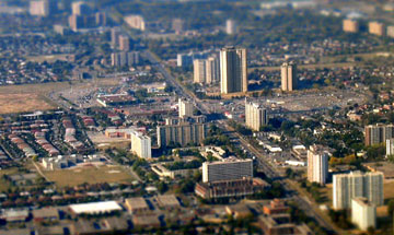 Aerial view of Jane-Finch neighbourhood. Courtesy of Lance Dutchak.